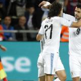 Cavani y Suárez comandan lista de Uruguay para jugar ante Colombia