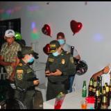 Policía acompañó con seguridad la fiesta de Amor y Amistad en Sucre