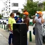 Docentes de Córdoba continúan con plantón para exigir pago de retroactivos