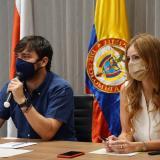 El alcalde Jaime Pumarejo y las fundaciones firman pacto por el desarrollo social