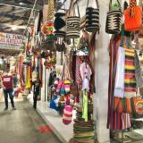 Feria comercial y artesanal en el antiguo mercado de Montería