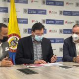 Galapa firma convenio con el DPS por $ 3 mil millones