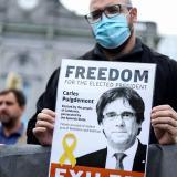 Carles Puigdemont queda en libertad pero no podrá salir de Italia