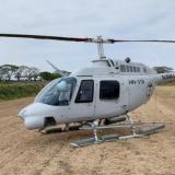 Helicóptero se accidenta en Cundinamarca