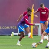 Ansu Fati regresa en medio de la tormenta del Barcelona