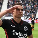 Borré se estrenó como goleador con el Eintrach en la Bundesliga