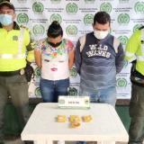 Los capturaron con 'narco-zapatos'