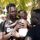 Crisis migratoria: una foto de recuerdo por si muero en la selva del Darién
