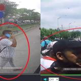 Estos serían los sujetos que vandalizan buses y no harían parte de bloqueos