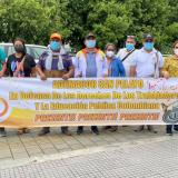 Centrales obreras de Córdoba se vincularon a la jornada de paro nacional