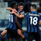 Duván Zapata fue figura en victoria del Atalanta en Champions