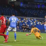 Napoli, con Ospina en el banco, pierde en casa en la Europa League