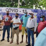 'Al virus lo frenamos juntos', campaña del Tránsito de Soledad