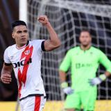 Radamel Falcao iguala el arranque goleador de Diego Costa en el Rayo Vallecano