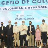 Presentación de la hoja de ruta de Hidrógeno de Colombia por el presidente de la República en Barranquilla