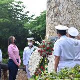 Realizan homenaje a la memoria del almirante José Padilla López