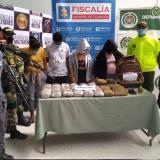 A la cárcel cuatro integrantes de 'la Hermandad' por tráfico de estupefacientes