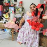 Ana María, una artista con grandes sueños