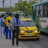 """Taxímetro, una """"deuda histórica"""" en Barranquilla"""