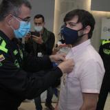 Policía reconoce liderazgo del alcalde Pumarejo contra la delincuencia