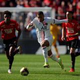 El Rennes le da un duro golpe al PSG de Messi, Neymar y Mbappé