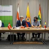 Barranquilla estrecha lazos con Dinamarca, Australia y Corea