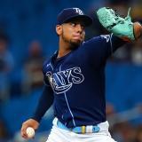 Los Rays anuncian sus lanzadores para primeros juegos de Serie Divisional