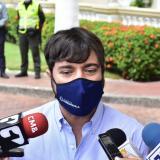 Entréguese si se quiere entregar: alcalde Pumarejo a 'el Negro Ober'