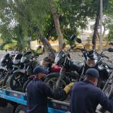 Inmovilizadas 8 motos por incumplir decreto de no parrillero en Cartagena