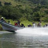 Armada rescata tres barcos con 47 migrantes que iban hacia el Darién