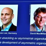 Premio Nobel de Química es para Benjamin List y David MacMillan