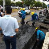 Limpian red de canales en Montería para evitar rebosamientos