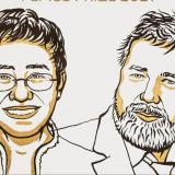 El Nobel de Paz fue para dos periodistas valientes