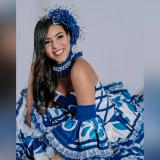Natalia Muñoz, la Reina del Carnaval de Santo Tomás 2022