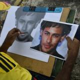 Adalberto Viñas sueña con mostrarle su retrato a Neymar