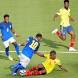Minuto a minuto del partido entre Colombia y Brasil por la Eliminatoria Sudamericana