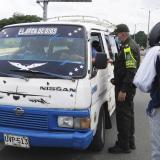 Refuerzan la seguridad y los controles en las vías de Sucre