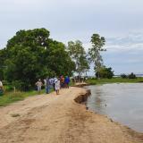 Alerta de inundación en Salamina ante un agresivo evento erosivo