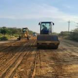 Se iniciaron las obras en las vías a la Alta Guajira