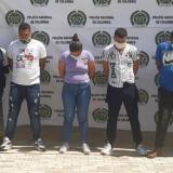 A la cárcel siete presuntos integrantes de 'Los Conquistadores de la Sierra'