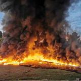 ELN se atribuye ataque al oleoducto en Barrancabermeja
