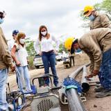 Obras de acueductos rurales, a buen ritmo