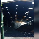 Reportan incendio en una bodega del Parque Industrial Pimsa