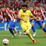 Salah derriba la reacción del Atlético de Madrid