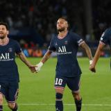 Messi, Neymar y Mbappé: el tridente invisible