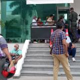Parálisis en la justicia en Sucre por protesta en la Fiscalía