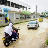 Denuncian incumplimiento en obras viales en Sincelejo