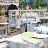 Se recogieron en La Guajira 6,5 toneladas de residuos posconsumo