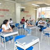 15 colegios de Santa Marta retornaron a la presencialidad