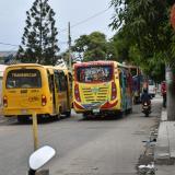 En barrio Montes: asesinan a bala a ayudante de bus en atraco